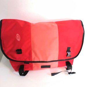Timbuk2 large messenger bag in red/pink